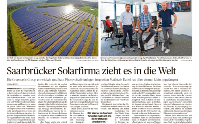 Greencells in the local press!