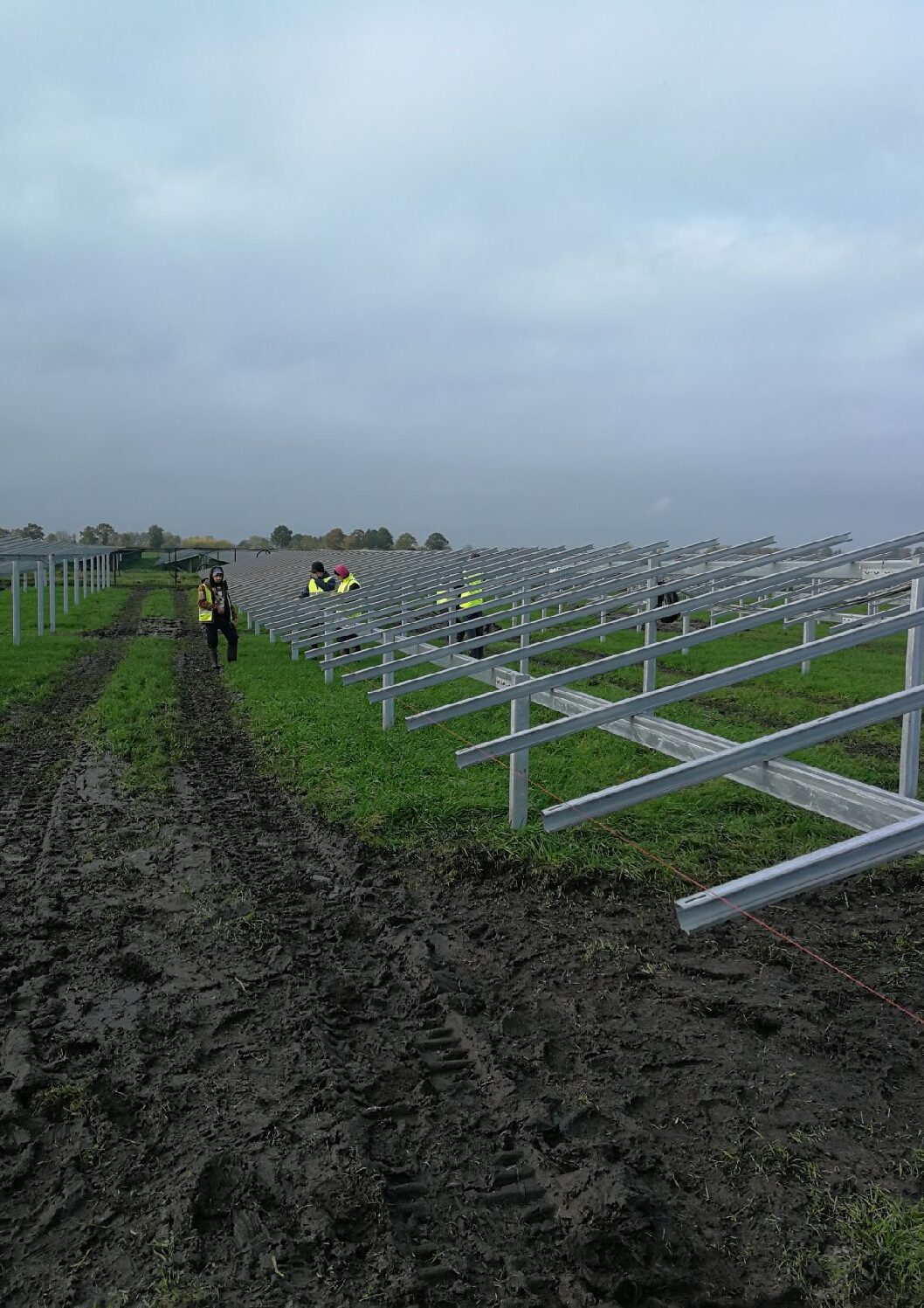 Progress of the project in Wolvega, Netherlands